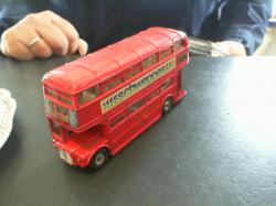 Bus dinky toys